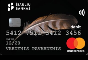 Debit Master Card - small